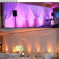 Quality 2018 Wholesale Used Adjustable Stands Poles System Circle Events Pipe And Drape Wedding Backdrop for sale