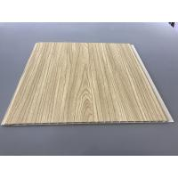 Buy cheap 12 Inch × 6mm High Strength PVC Garage Wall Panels With Golden Lamination from wholesalers