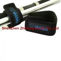 Quality Waterproof Diving fabric cable tie binding straps / fiber Velcro cable ties for sale