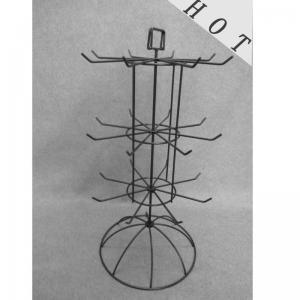 Metal Display Rack with Bottom Drawer