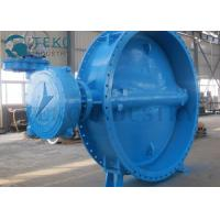 Quality Soft Seated Two Flanged End Eccentric Butterfly Valve For Clear Water for sale