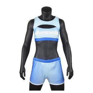 China Fashion Style Blue Cheerleading Apparel / Ladies Cheerleading Uniforms on sale