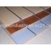 Quality Slotwall Board From Rongye China Shopfitting Supplier for sale