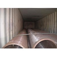 China Seamless Hot Rolled Steel Pipe 24'' 610mm OD Large Caliber Boiler Application on sale