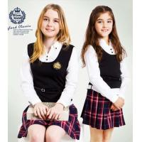 China white adult Cotton School Uniforms Customized student skirts for girls on sale