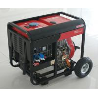China AC SIngle Phase 50HZ/4.6KW Key Start silent diesel generators for home use and shop on sale