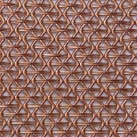 Quality Facade wall decorative mesh screen in Brass copper architectural wire woven for sale