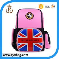 Quality PU Stylish UK Flag print backpack bags back to school Collection for sale
