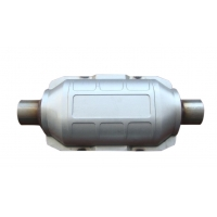 Quality Carbon Steel EPA CARB 5 Inch Diesel Car Catalytic Converter for sale
