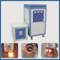 China 60kw IGBT high frequency induction machine for bar end heater on sale