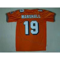 China Miami Dolphins 19 Brandon Marshall Orange Jersey on sale