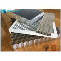 China Aluminum Honeycomb Curtain Wall Core Board 0.06mm Thickness Glue Bonded on sale