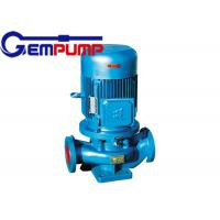 Buy cheap ISG cold / hot water vertical fire-fighting booster pump remote water supply warming systems product