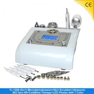 China Portable Ultrasonicdiamond Microdermabrasion Photin Skin Rejuvenation For Face Lift YL-1008 on sale