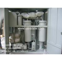 Quality Aging Turbine Oil Regeneration Purifier, Turbine Oil Cleaning Plant Series TY-R for sale