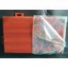 Cheap Wooden Abrasion Resistance Aluminum Wall Panels / Metallic False Ceiling 200mm X 300mm wholesale
