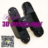 Buy cheap opening 180 three ways adjust hidden concealed hinges 3d invisible hinge made in china product