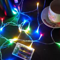 China 2M 20LED 3*AA battery operated christmas lights LED string lights more color good material on sale
