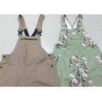 Quality Classic Style work bib overalls / Safety Cotton custom work apparel For Gardener for sale