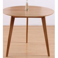 Quality Classic Round Wood Dining Room Tables , Small Round Breakfast Table For Kitchen for sale