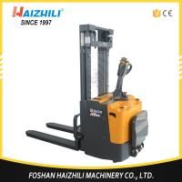 Quality Australia hot selling reach stacker 1000kg 1600mm electric stacker with cheap price for sale