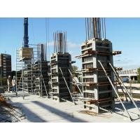Quality High Standard Rectangle / Square Concrete Column Formwork ISO9001 Approved for sale