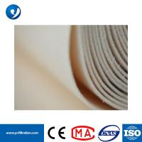 Quality High Temperature Resistant PPS Dust Filter Bags PTFE Macerating for sale