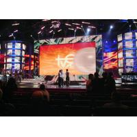 Quality Thin High Resolution LED Display 3D Background Video Wall 500mm x 500mm or 480 x 4800mm for sale