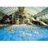 Quality Customized Large Tsunami Pool 1.8m Deep / Water Park Equipment for sale