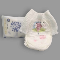 China S  M  L  XL Full Size Printed PE Back Film Sleepy Baby Diapers on sale