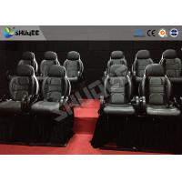 China Hydraulic 4DOF 5D Movie Theater 5d Movie Theatre With Dynamic System Motion Rides on sale