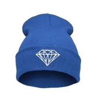 Quality Casual Warm Winter Knit Caps For Men Embroidered , Knitted Beanie Hats for sale