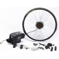 """Quality 20"""" 26"""" 700C Wheel Electric Bike Hub Motor Conversion Kit With Batteries for sale"""
