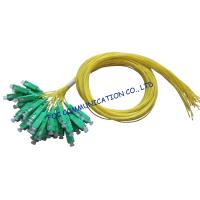 China SM LAN Optical Fiber Pigtail 12 Pack SC / APC Low Insertion Loss on sale