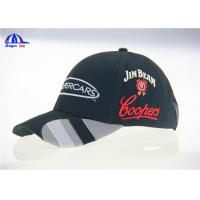 Quality Customizable 100% Cotton 3D Embroidered Sport Baseball Cap 6 Panel for College Youth for sale