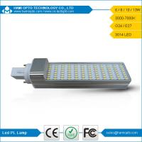 Quality CE RoHs Approved PL SMD3014 LED G24 Lamp Light, 10W G24/E27 120 Degree View Angle for sale