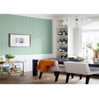 Quality Non Woven Removable American Style Wallpaper Flower Design 5.3 Sqm / Roll for sale