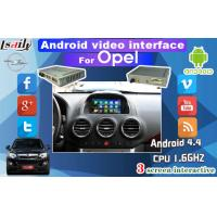 Quality Android audio video interface with Dynamic Parking Guide Line work for Opel , CUE System for sale