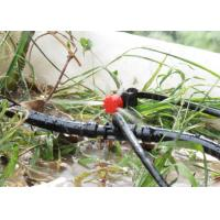 Quality Drip Irrigation Greenhouse Sprinkler System 360 Degree Spray Emitter With Stake for sale