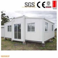 Quality Mobile Home Cabin expandable container house 3 in 1 for sale