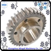 Quality Fixed 1 - 22M Steel  Spur Gear Transmission Gear Parts With Spline Shaft for sale