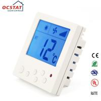 Quality FCU Digital Temperature Control Heating Fan Coil Room Thermostat with Remote Control for sale