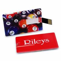 Buy cheap Customize Business Card Size Paper Usb Webkey 128mb - 2gb Storage Capacity product