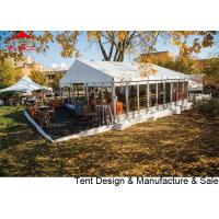 Quality Chinese factory sale  luxury waterproof pvc party tent with glass wall for sale