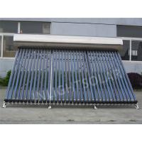 China Stainless Steel Evacuated Tube Solar Water Heater 40 Tubes Vacuum Tube Solar Geyser on sale