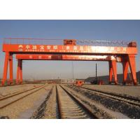 Quality Double Beam Rail Mounted Gantry Crane For Automobile / Construction / Engineering Industries for sale