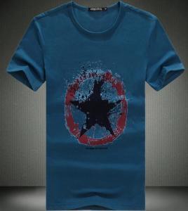 China new model mens t-shirt fancy design men's t-shirt men's o-neck t-shirt on sale