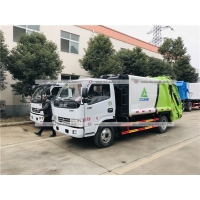 Buy cheap 6cbm Compactor Garbage Truck Rear Load Compression Waste Treatment Truck from wholesalers