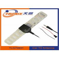 China Digital FM Automotive TV Antenna Aerial For Car DVD Video TV SMA + FM Radio Booster on sale