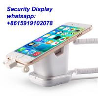 COMER anti-theft display mobile phone security stand with alarm systems